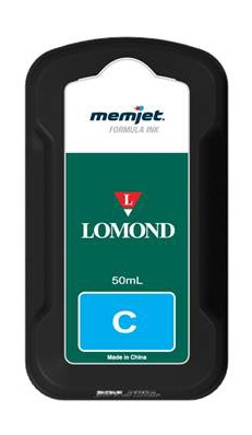 Tintenpatrone in Cyan/Blau für Lomond Evojet Office Memjet-Drucksystem