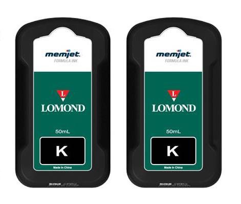 Refill-Tintenpatronen in Schwarz für Memjetdrucker Lomond Evojet Office 1 2er-Set