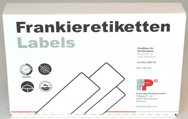 Frankieretiketten für Streifengeber PostBase
